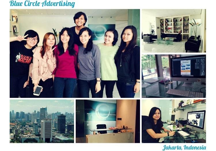 Zuzanne Abts, Studentin im Studiengang B.A. Grafikdesign und Visuelle Kommunikation, absolvierte ihr Praktikum in einer indonesischen Werbeagentur.