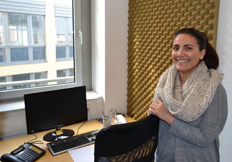 Dorsa Heidari hat während ihres Praktikums die Marktforschungsarbeit kennengelernt.