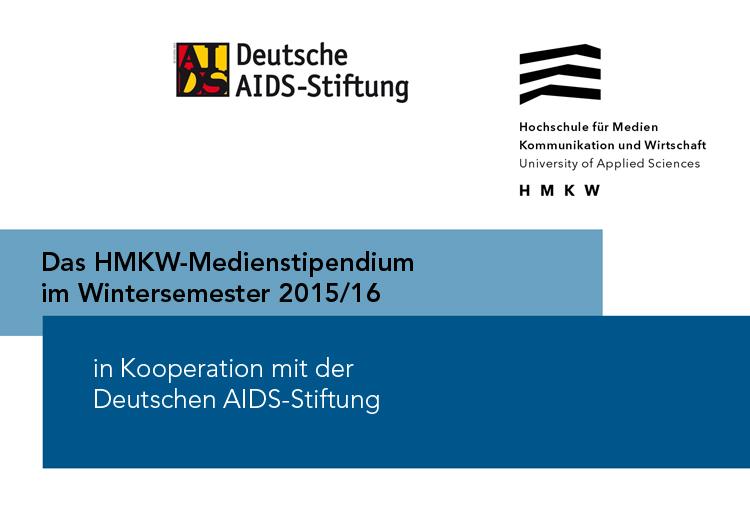 Das HMKW-Medienstipendium zum Wintersemester 2015/16