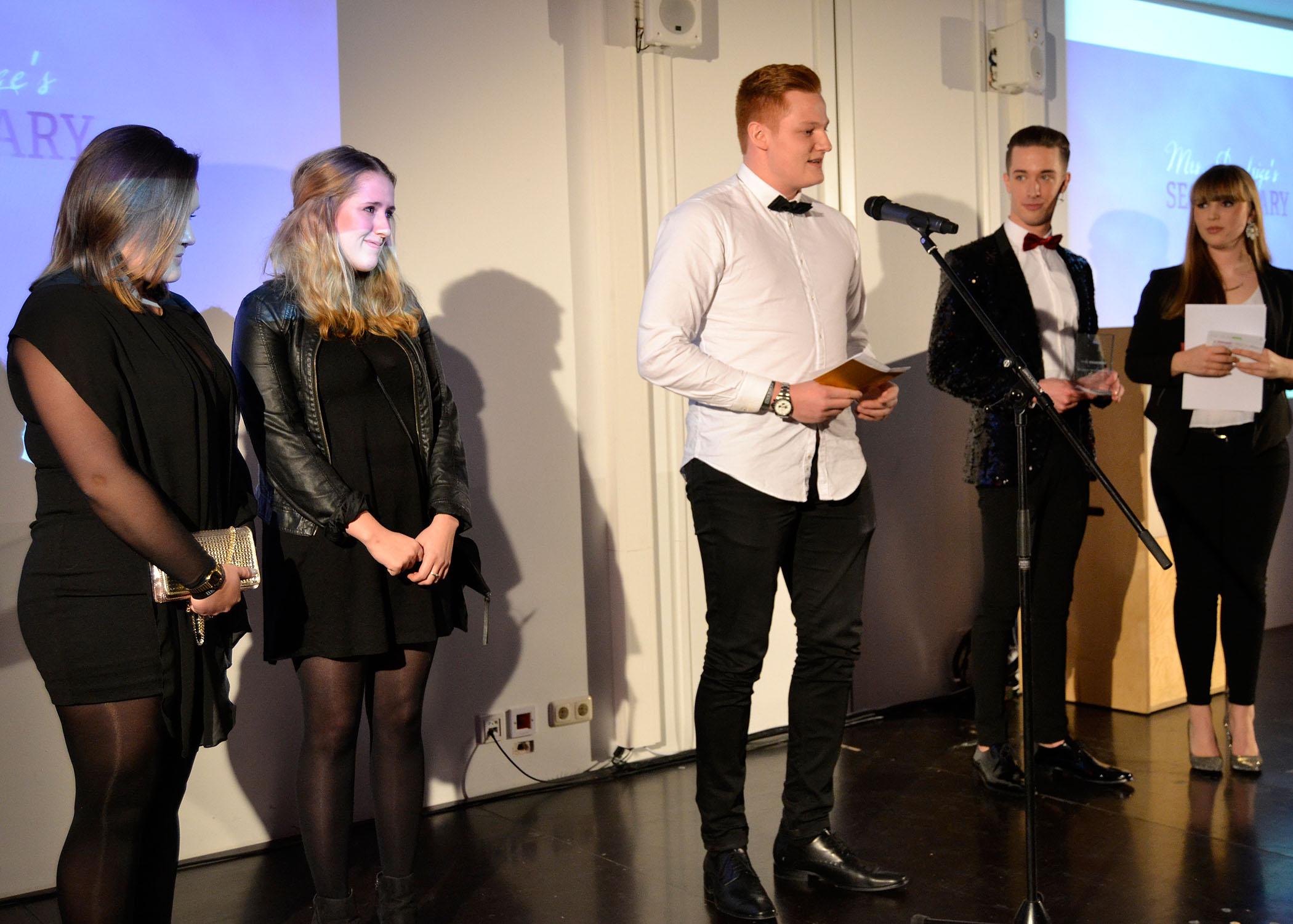 """In der Kategorie """"Film"""" gewannen die HMKW-Studentinnen Melina Bönninger und Julia Doepke."""
