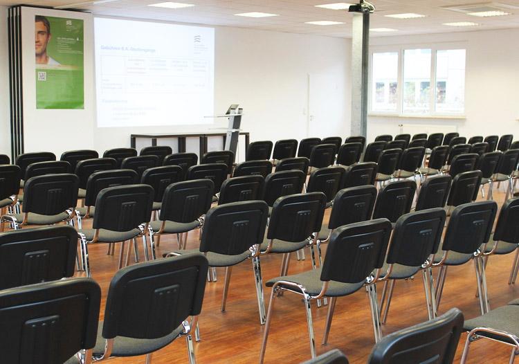 Einer der Vorlesungssäle der HMKW Köln