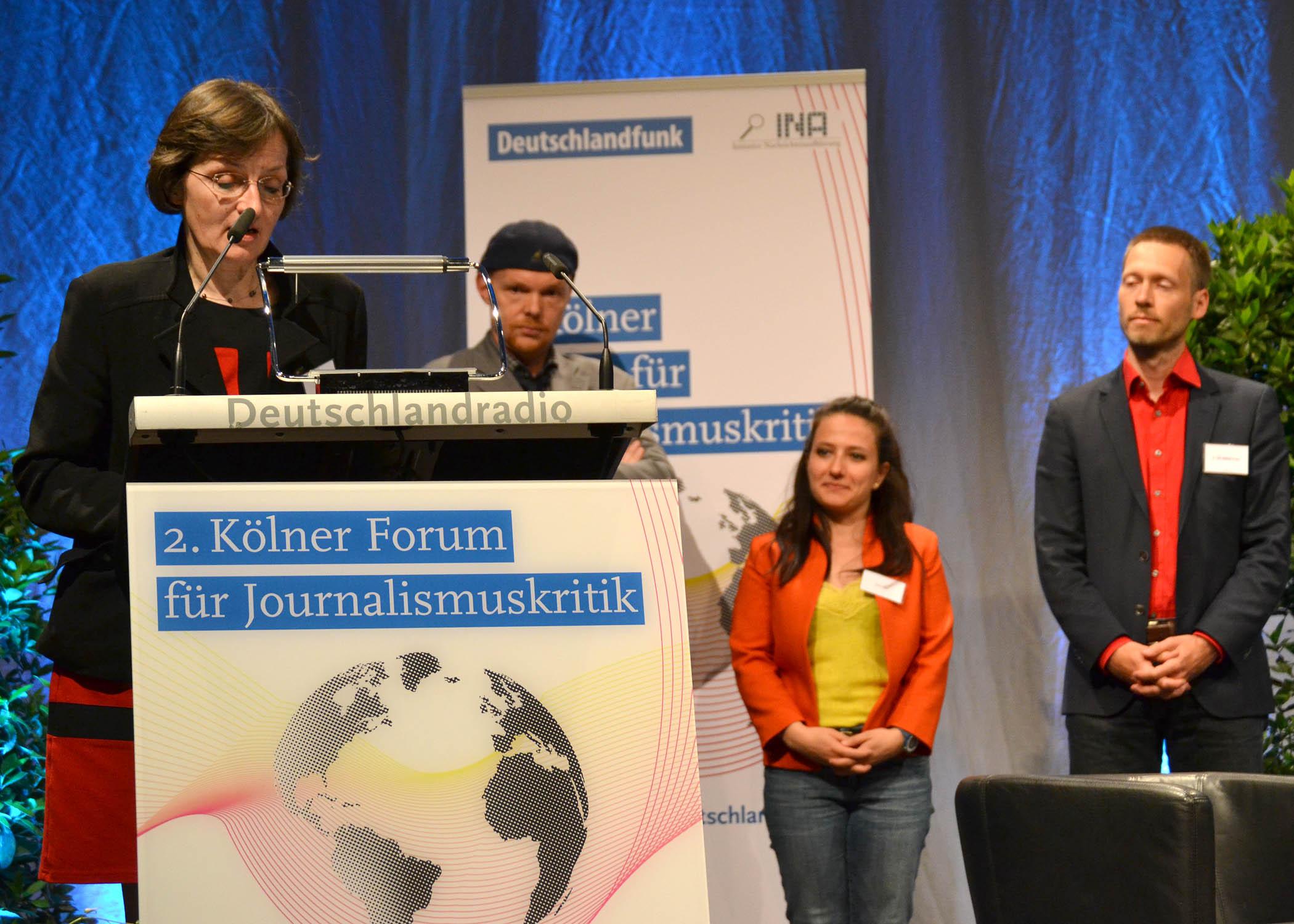Höhepunkt der Veranstaltung: die Verleihung des Günter-Wallraff-Preis für Journalismuskritik.