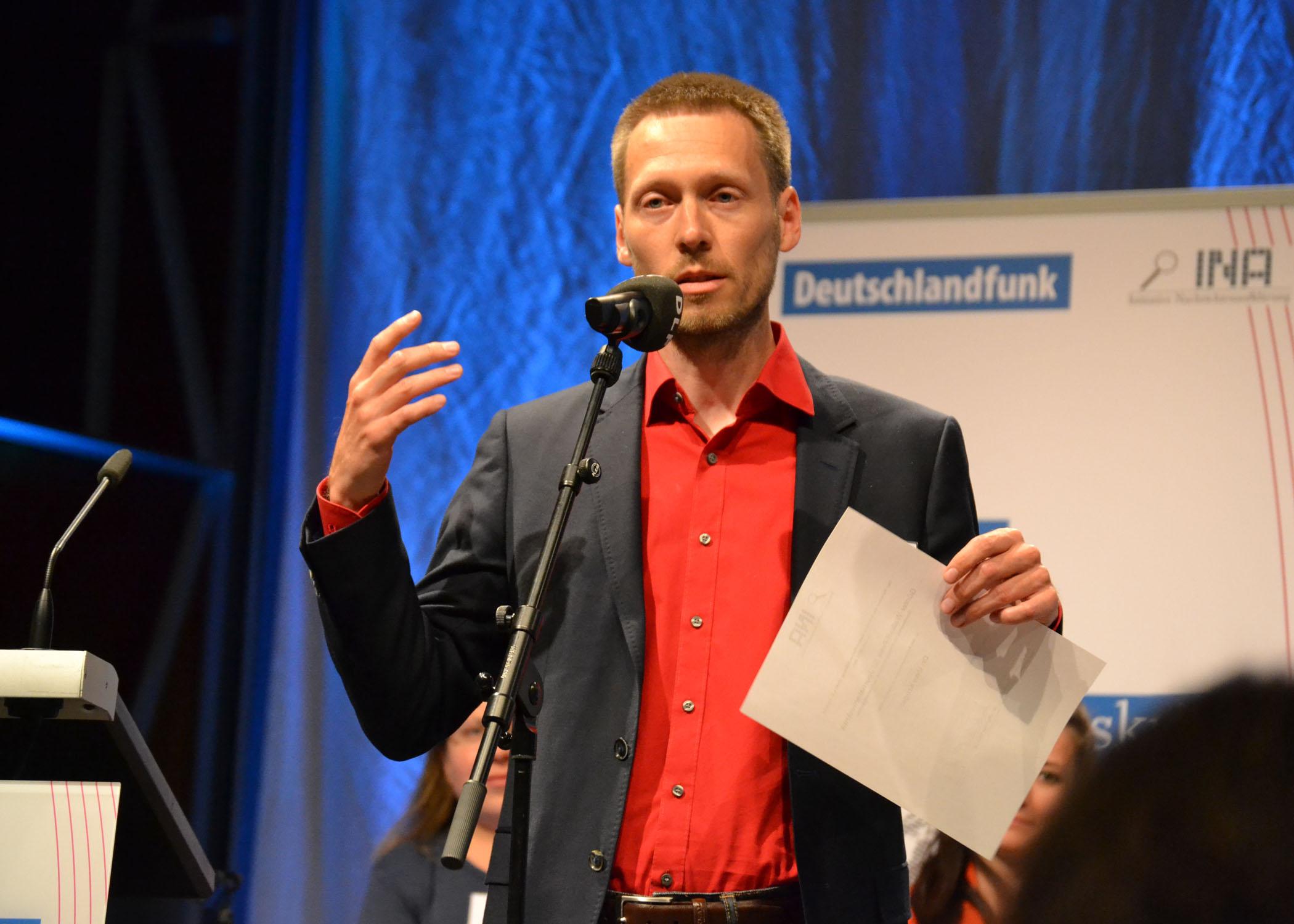Ein Sonderpreis ging an den Medienwissenschaftler Uwe Krüger von der Universität Leipzig.