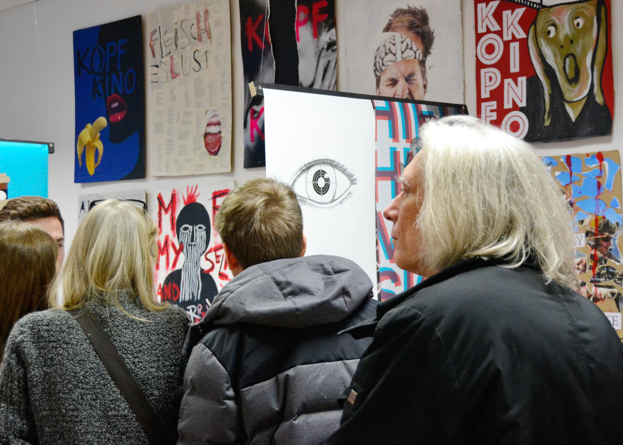 Die 11. Semesterausstellung an der HMKW Köln war so gut besucht wie nie zuvor.