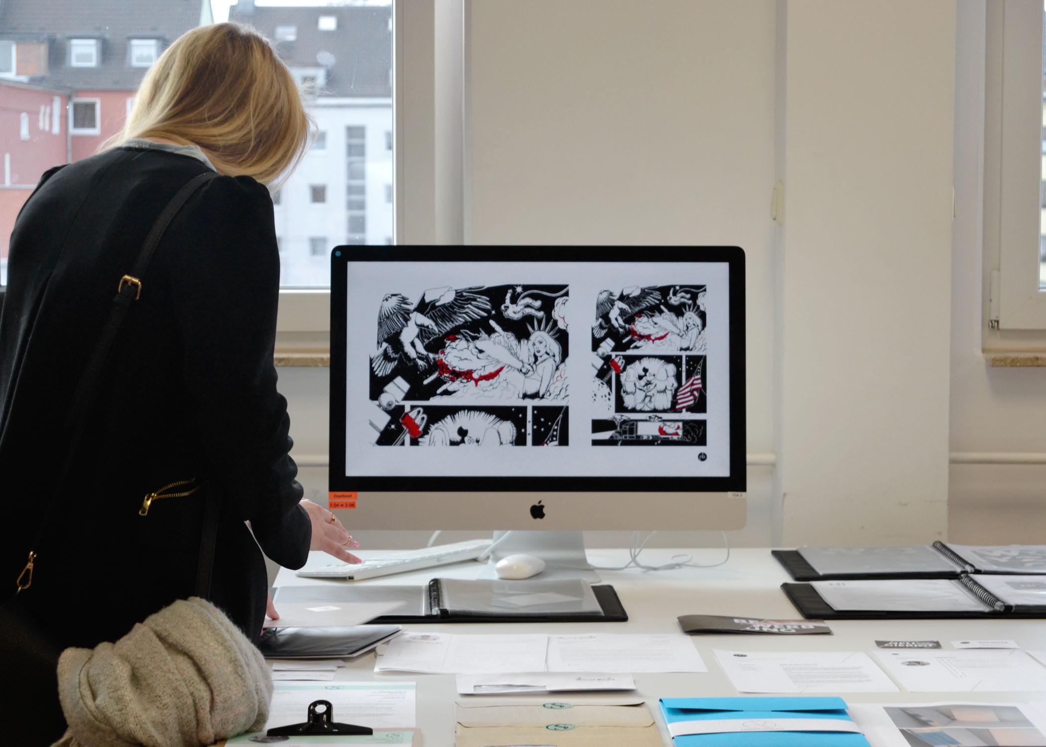 Wie umfassend ein ganzheitliches Designkonzept ist, zeigte unter anderem diese umfassende Präsentation und Dokumentation.