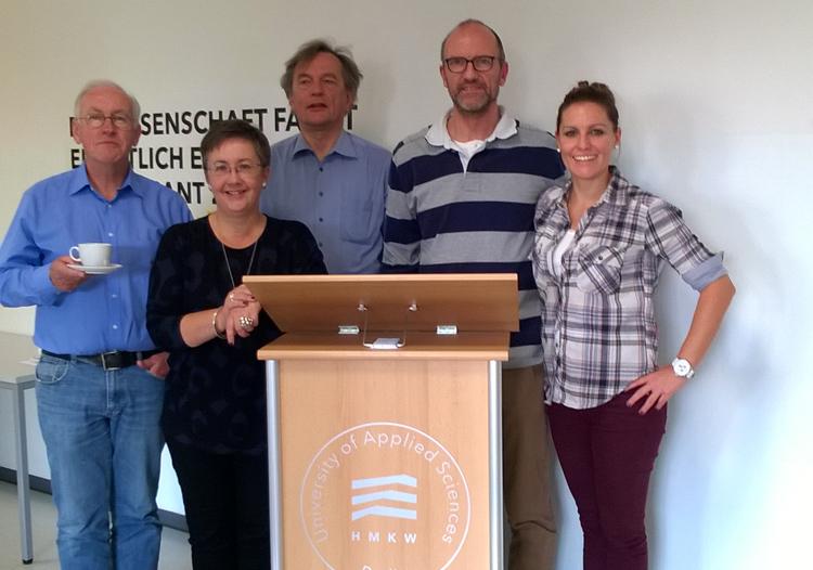 EAAP President André Droog, Prof. Dr. Monica Martinussen, Dr. Hinnerk Eißfeldt, Prof. Dr. Harald Kolrep und Dr. Michaela Schwarz