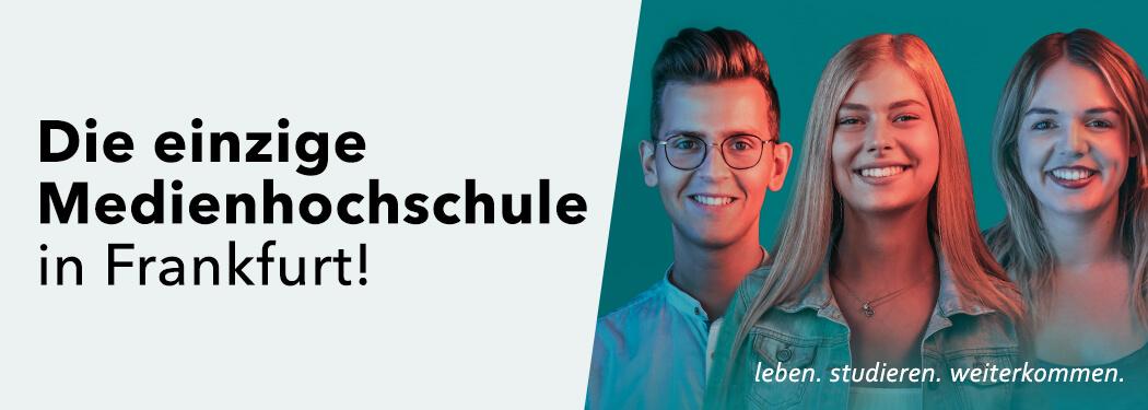 HMKW: Die einzige Medienhochschule in Frankfurt