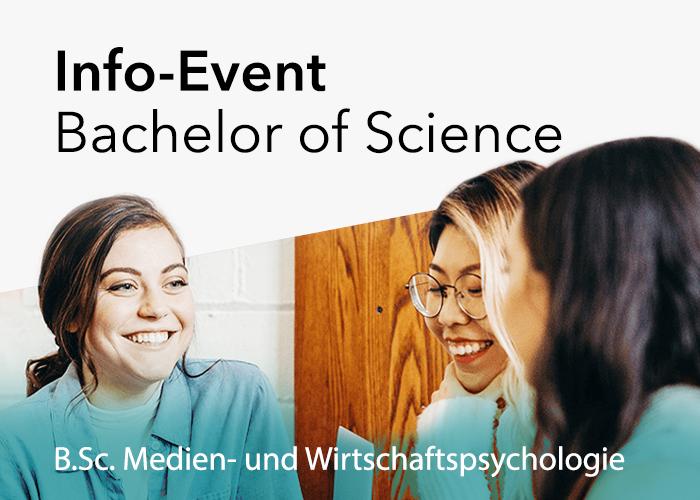 Info-Event: B.Sc. Medien- und Wirtschaftspsychologie