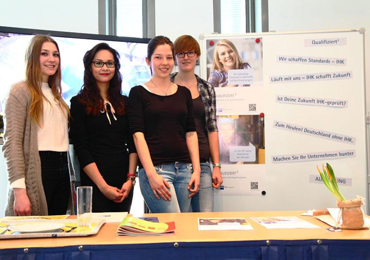 HMKW-Studierende präsentieren ihr Projektergebnis
