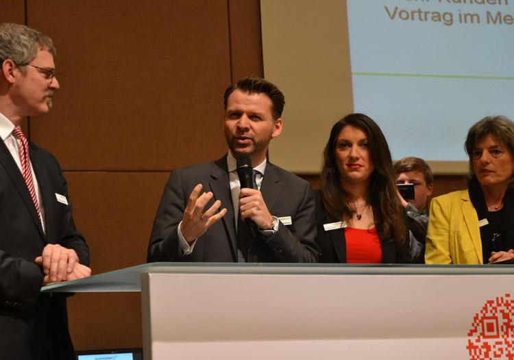 Prof. Dr. Tobias Kollmann vom NRW-Wirtschaftsministerium
