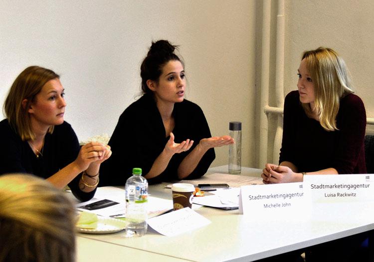 Delegierte argumentieren für Förderungen
