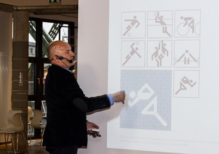 Beispiele für Piktogramme aus dem Sportbereich