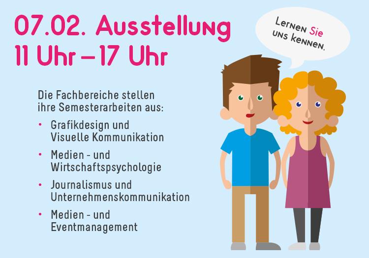 Die HMKW Köln lädt zur Semesterausstellung.