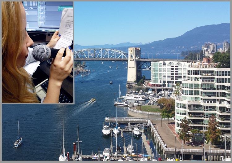 Gesina Kunkel studiert zurzeit in Vancouver