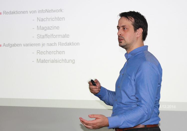 Simon Hof, Leiter Content Management bei infoNetwork