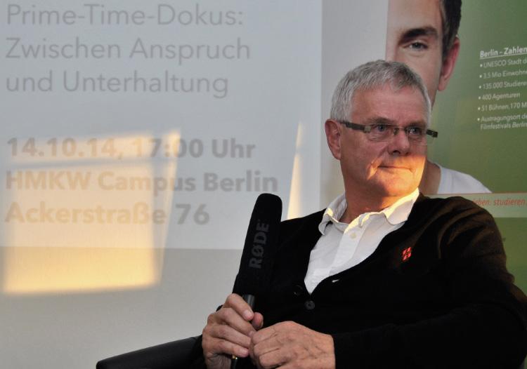 """Heiner Gatzemeier als Gast bei """"Auf den Punkt"""""""