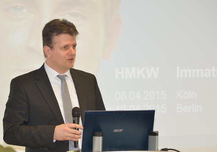 Standortleiter der HMKW Köln, Prof. Dr. Wolfgang Kothen