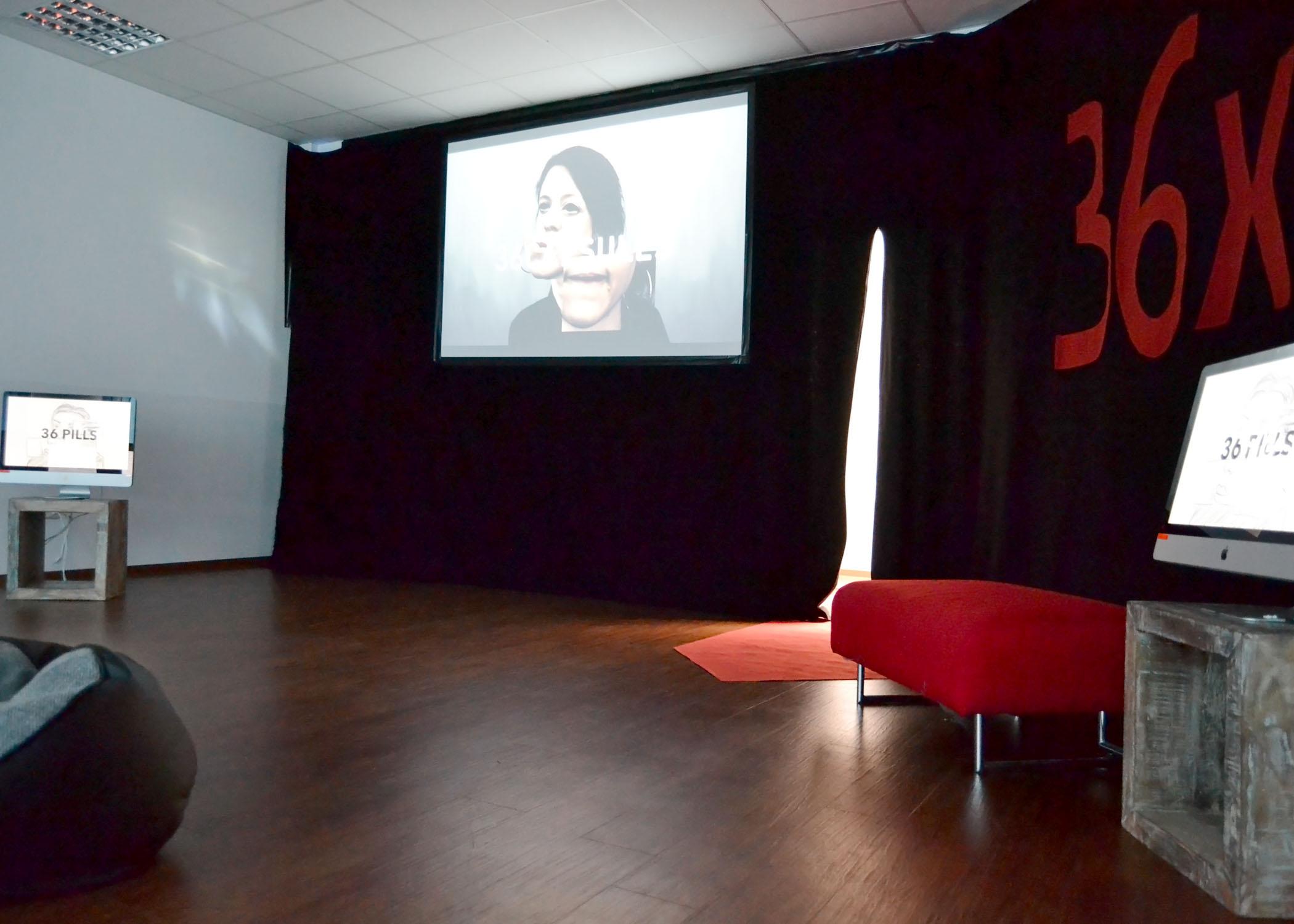 """Im """"Kino 5"""" wurden Filme mit Bezug zu mysteriösen """"36x"""" gezeigt."""