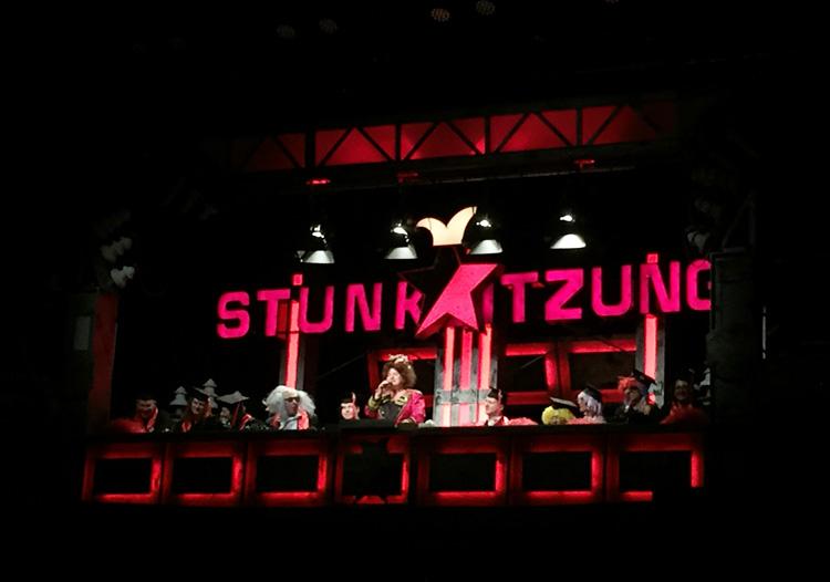 Die Stunksitzung gastiert seit 1991 im Kölner E-Werk.