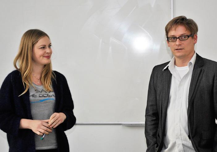 Johanna Ecker, Associate Director Digital Brandig bei Interbrand, eingeladen von Prof. Dr. H. Breuer