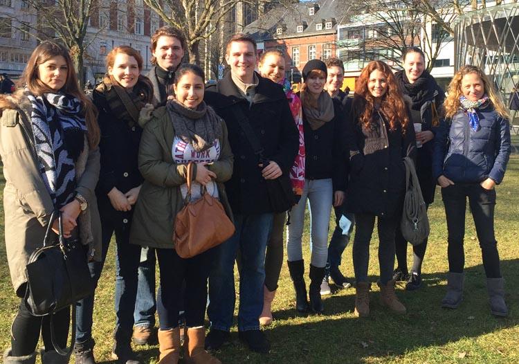 Kölner HMKW-Studierende in Aachen