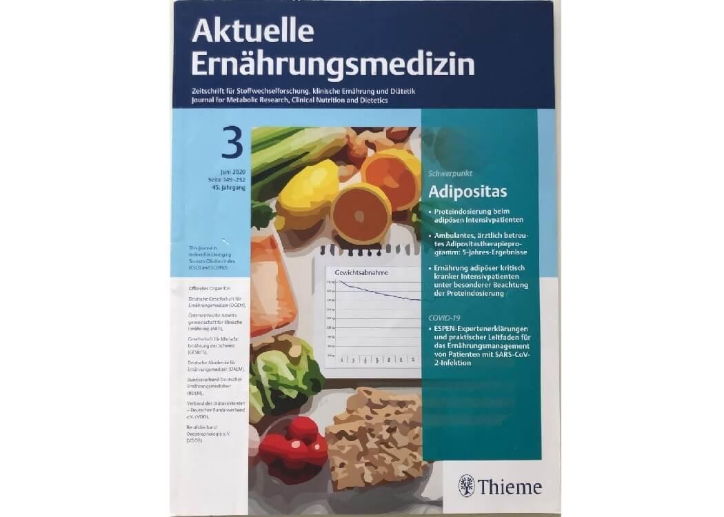 Aktuelle Ernährungsmedizin Ausgabe 3 Juni 2020
