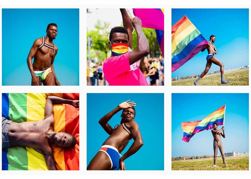 Blick in den Insta-Feed: Fotoshooting für die CSD Berlin Pride Kampagne