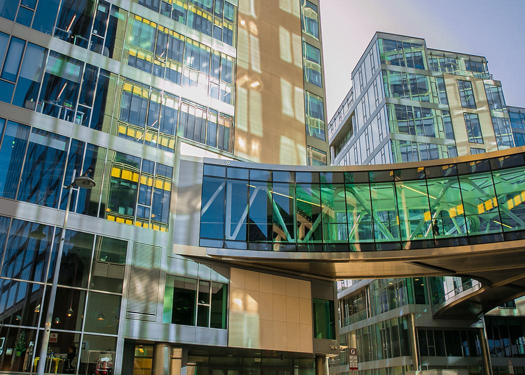 Die europäische Firmenzentrale von Google in Dublin