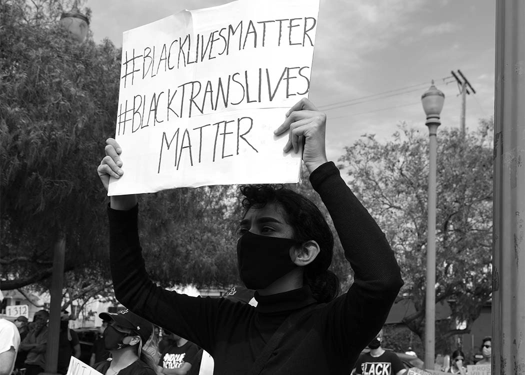 The movement uses the hashtag #BlackLivesMatter in social media platforms like Instagram. (Photo: Mike Von/Unsplash)