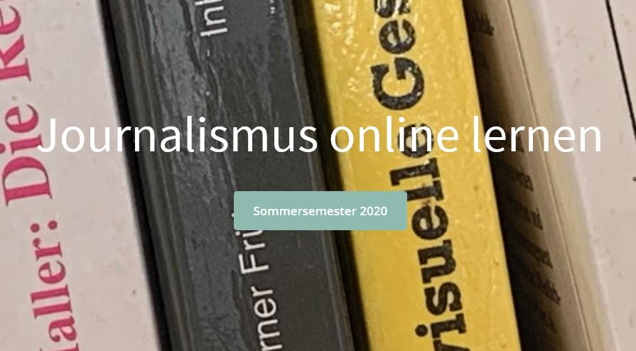 Journalismus online lernen