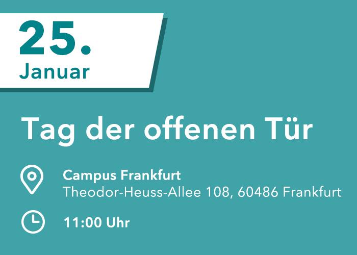 HMKW Medienhochschule Tag der offenen Tür in Frankfurt