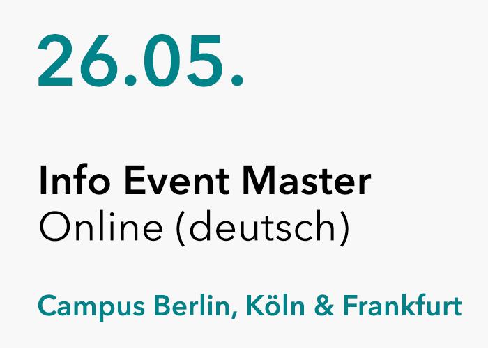 HMKW Online Info Event Master (auf deutsch) 26.05.2020