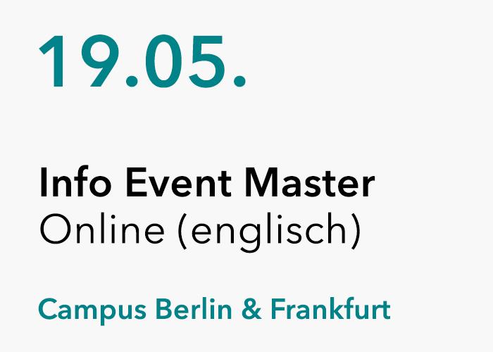 HMKW Online Info Event Master (auf englisch)