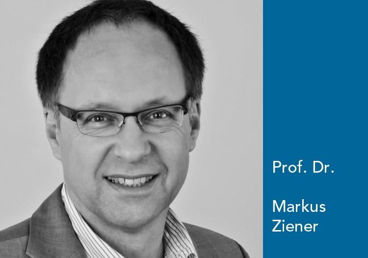 Markus Ziener, Professor für Journalismus und Unternehmenskommunikation